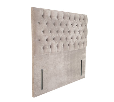 Chesterfield Floor Standing Upholstered Headboard