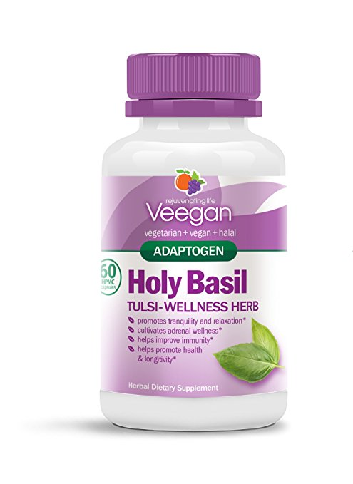 Holy Basil – Tulsi – Wellness Herb – Adaptogen Capsules