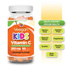 Veegan - Vitamin C Gummies for Kids 250mg (60/90/120 Count) Yummy Orange Flavor, Immune Support Children's Dietary Supplement, Vegan, Non-GMO, Gluten & Gelatin Free, Real Fruit Pectin Chews