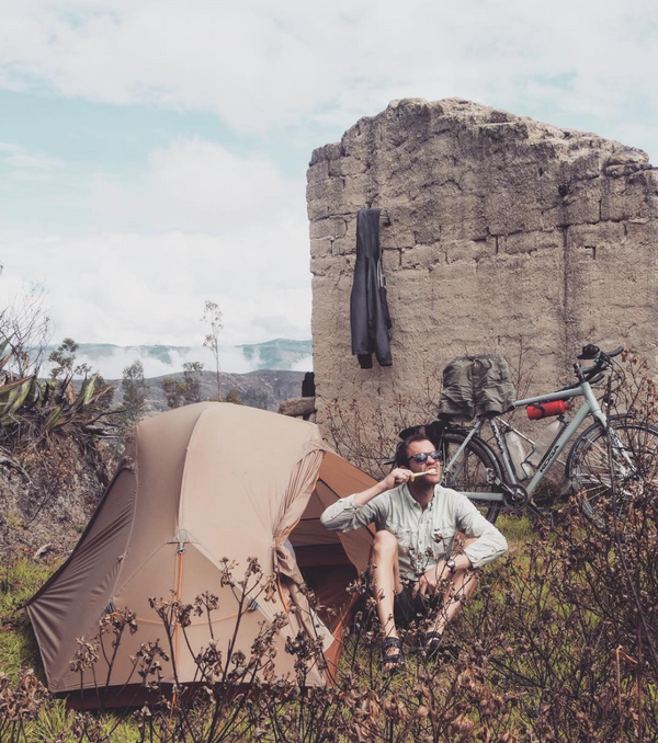 The story of a man who cycled 80 000 kilometres - and is still going!