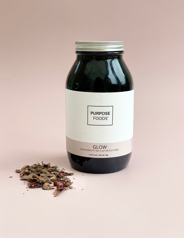 GLOW | PROBIOTIC BEAUTY TEA (Loose Leaf - 60 Cups)