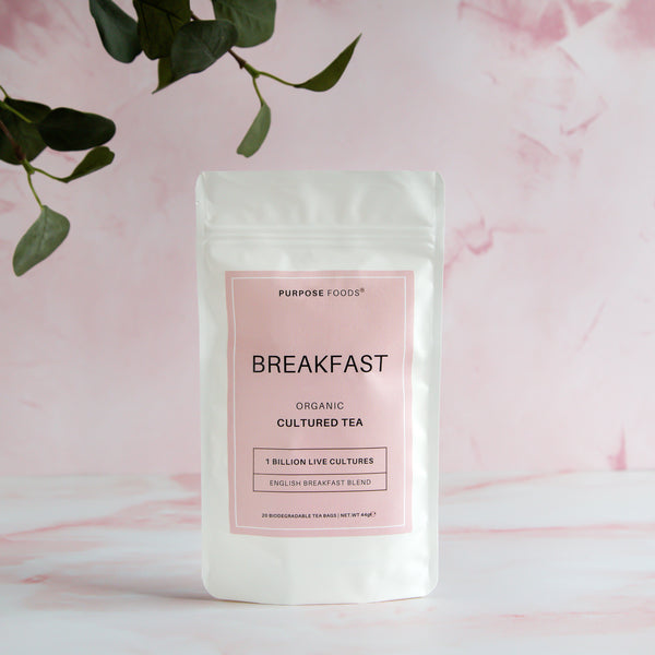Breakfast - Organic Cultured Tea (20 Tea Bags)