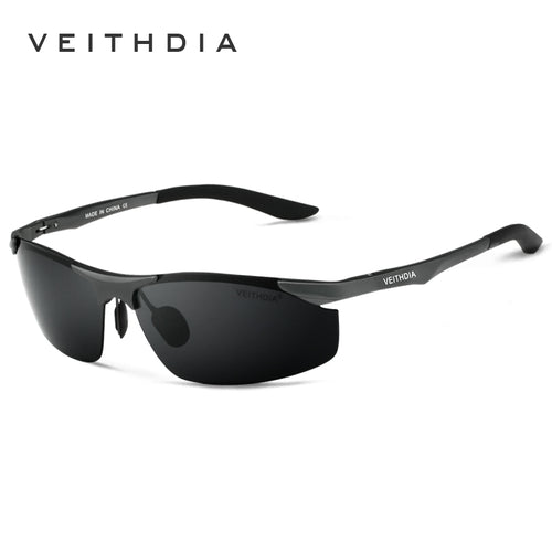 0016 - Men's aluminum polarized sunglasses - Great Sunglasses