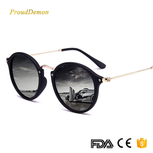 0003 - 2018 New Arrival round retro men sunglasses - Great Sunglasses