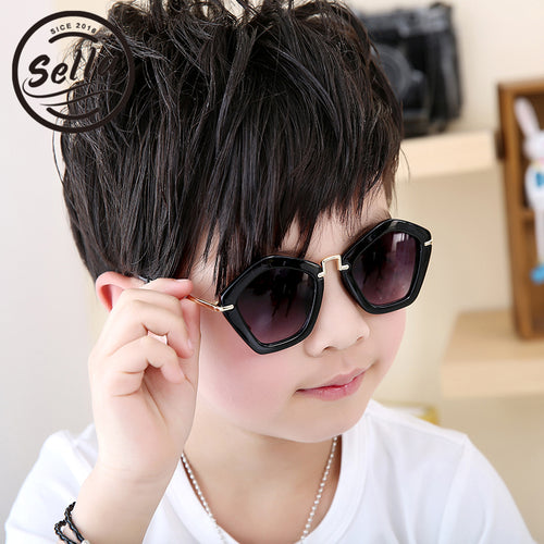 2018 Anti-ultraviolet boys sunglasses with personality - Great Sunglasses