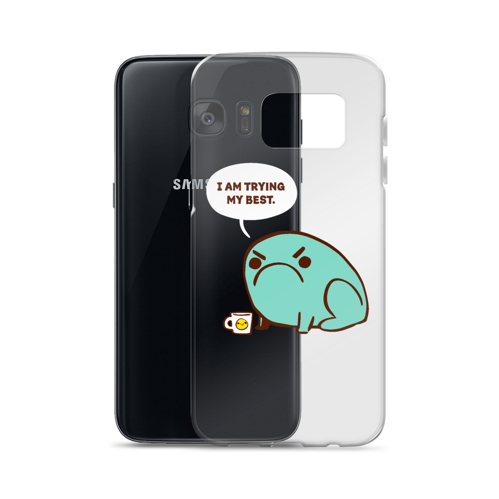 Samsung Case Trying Their Best Toad