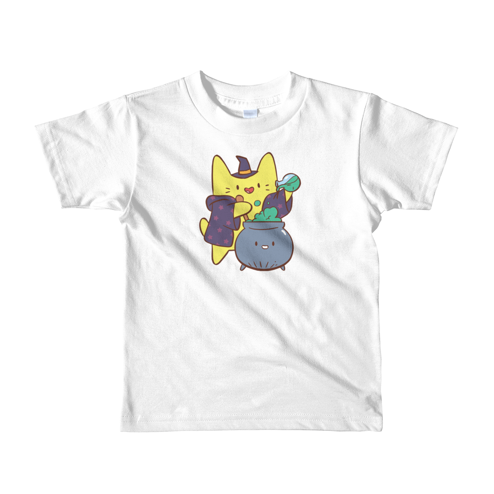 Kids t-shirt Magical Cat