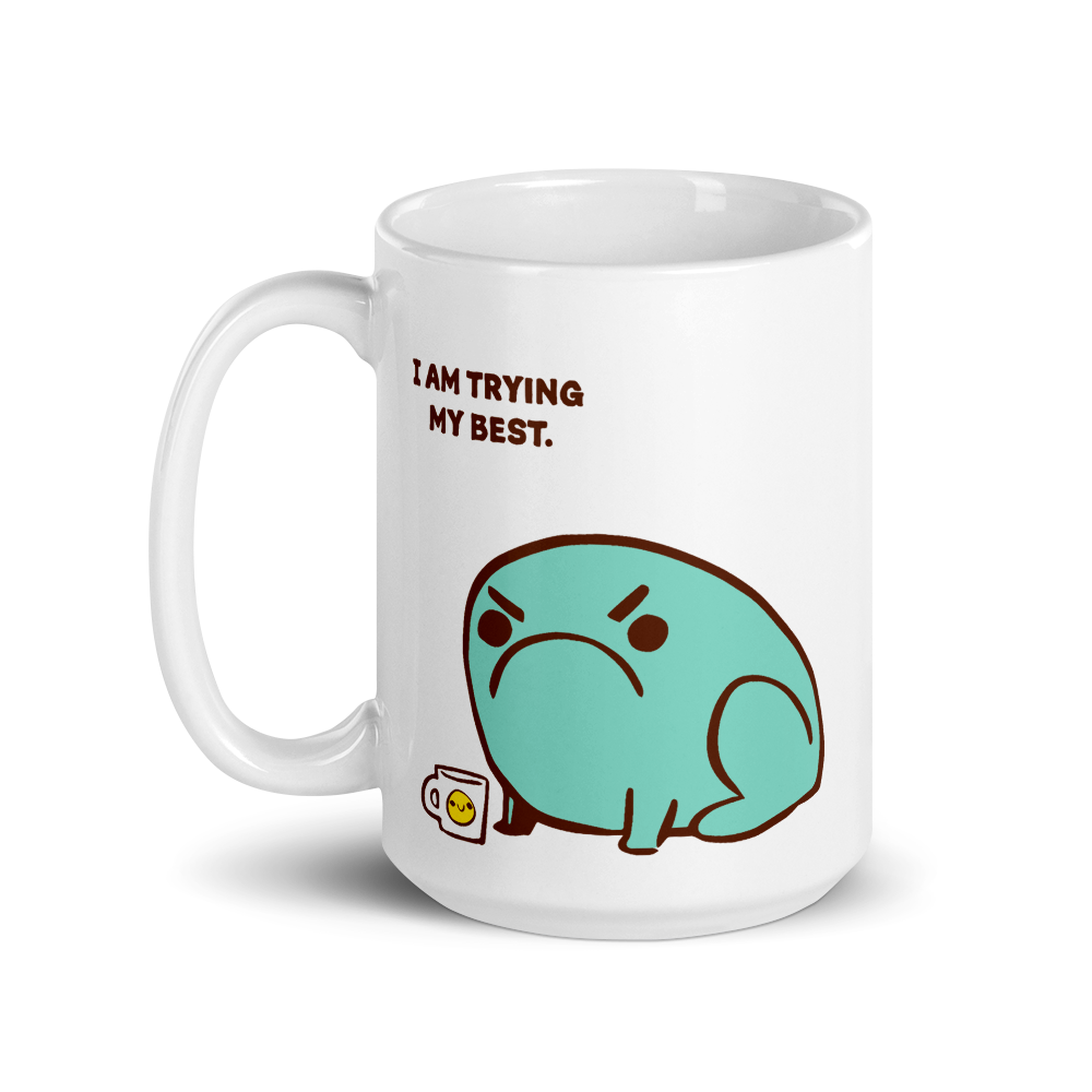 Mug Trying Their Best Toad
