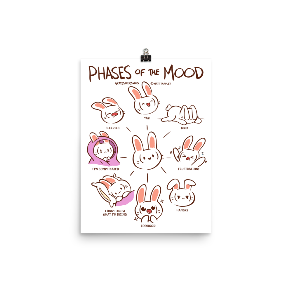 Poster Phases of Mood