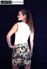 Load image into Gallery viewer, Chleo Skirt Crafted with Soft Cotton Street-Style - Velmoft