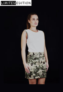 Chleo Skirt Crafted with Soft Cotton Street-Style - Velmoft