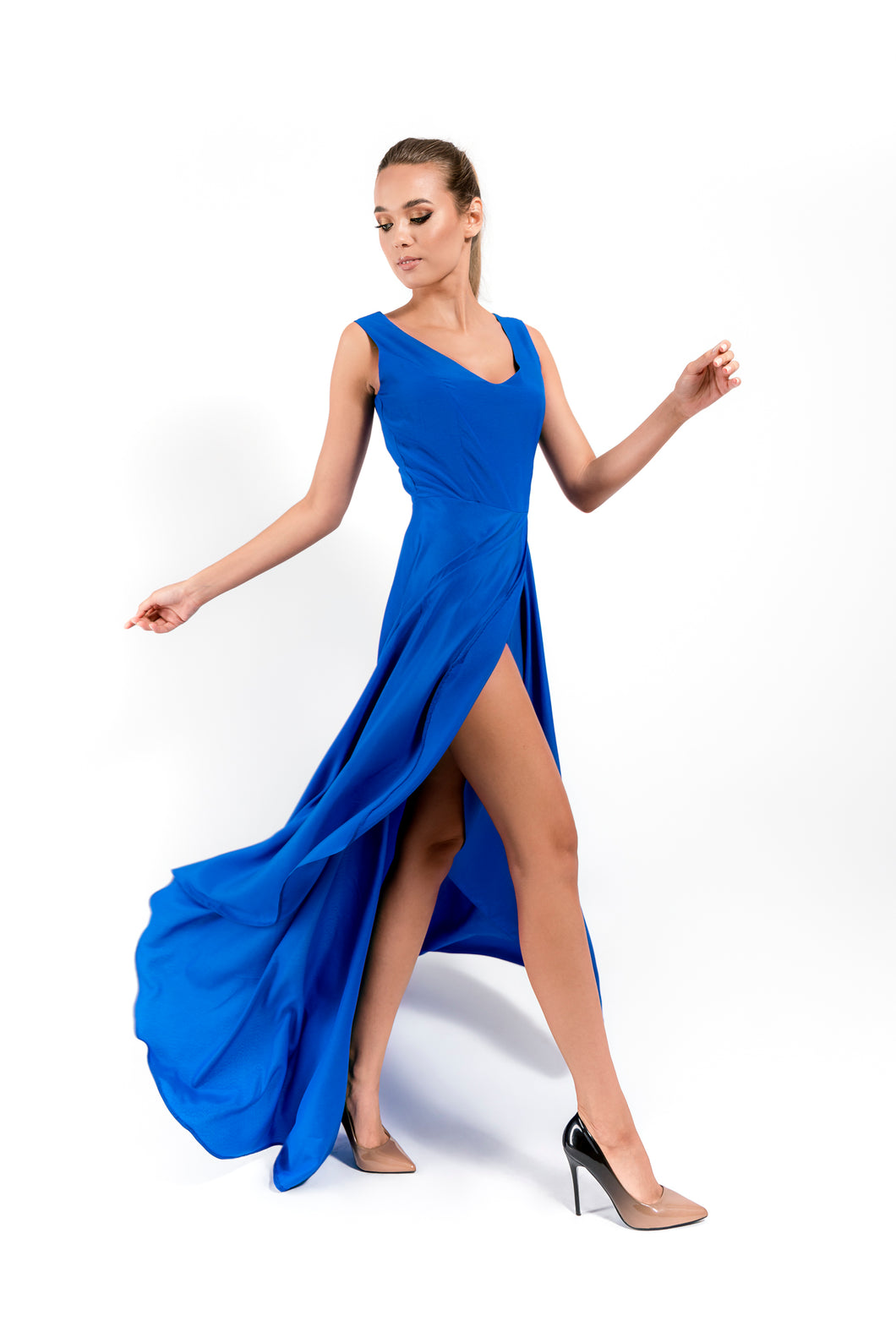Royal Blue Dress - Velmoft