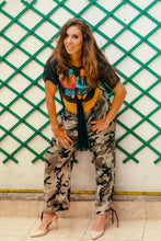 Load image into Gallery viewer, Casual Pants with Army Print - Velmoft
