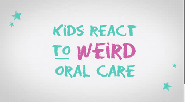 Kids react to weird oral care