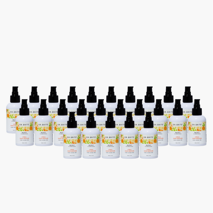 25 PACK - 4oz Citrus Hand Sanitizer