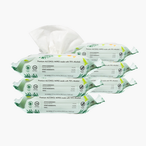 6 PACK - Balsam Pine Alcohol Wipes