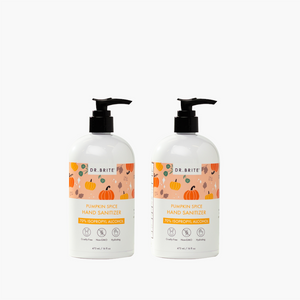 2 PACK - 16oz Pumpkin Spice Hand Sanitizer