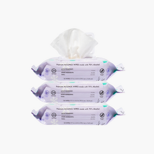 3 PACK - Winter Air Alcohol Wipes