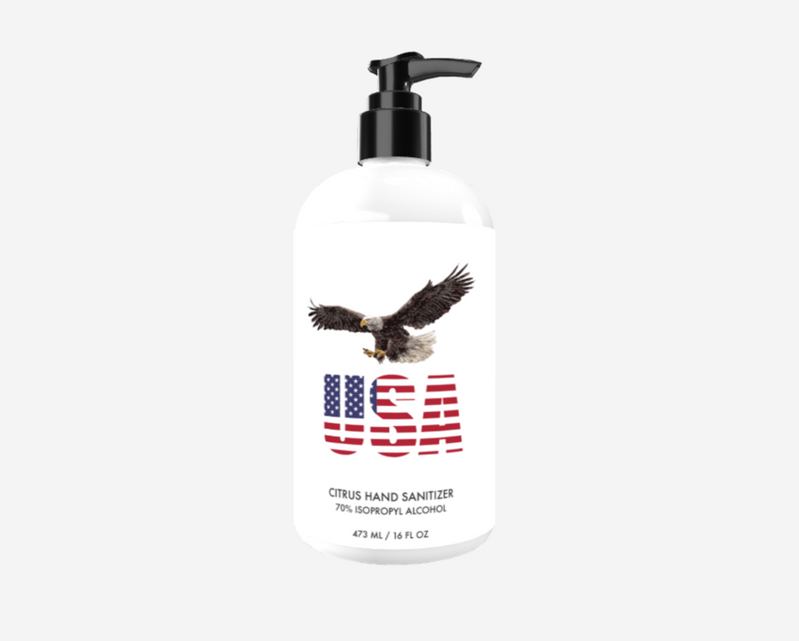 Made in USA Custom Sanitizer