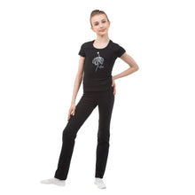 "Load image into Gallery viewer, T-shirt ""Silver dancer"""