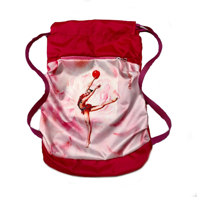 Red Gymnastics Backpack