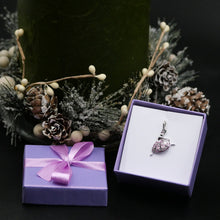 "Load image into Gallery viewer, Silver Necklace with Gemstones ""Ballerina"""