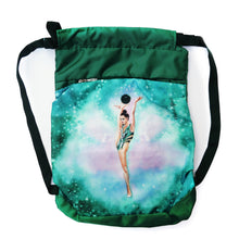 Load image into Gallery viewer, Green Gymnastics Backpack