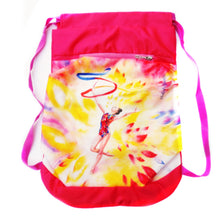 Load image into Gallery viewer, Red & Yellow Gymnastics Backpack