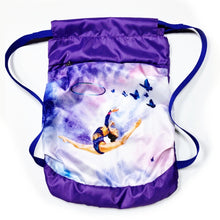 Load image into Gallery viewer, Purple Gymnastics Backpack