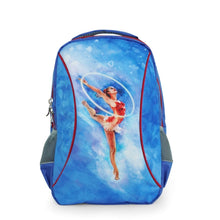 Load image into Gallery viewer, Sky Blue Gymnastics Backpack