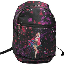 Load image into Gallery viewer, Black Rhythmic Gymnastics Backpack