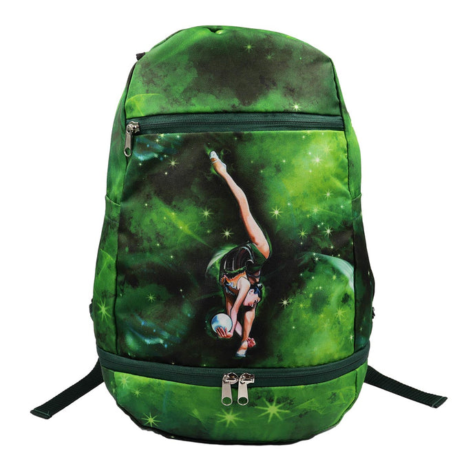 Green Rhythmic Gymnastics Backpack