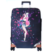 Load image into Gallery viewer, Luggage cover with Gymnast print