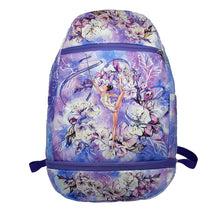 Load image into Gallery viewer, Purple Rhythmic Gymnastics Backpack