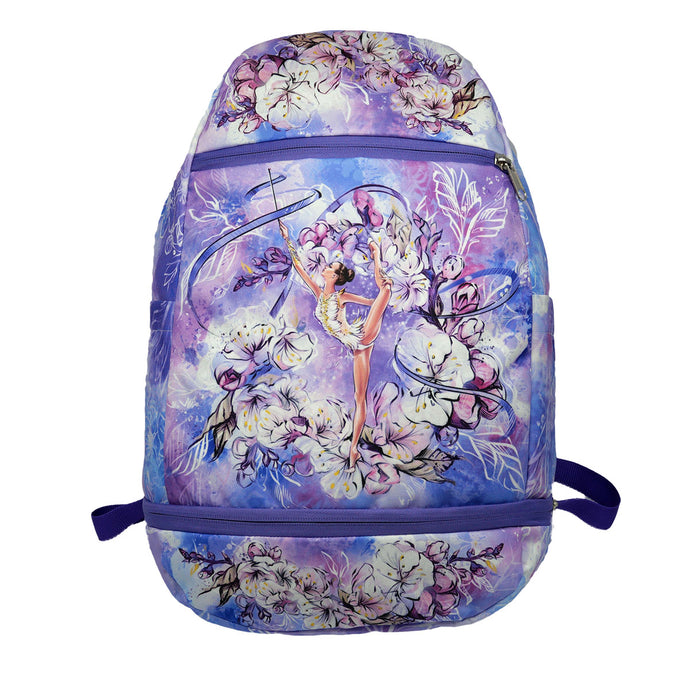 Purple Rhythmic Gymnastics Backpack