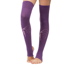 Load image into Gallery viewer, Leg warmers with gymnast print