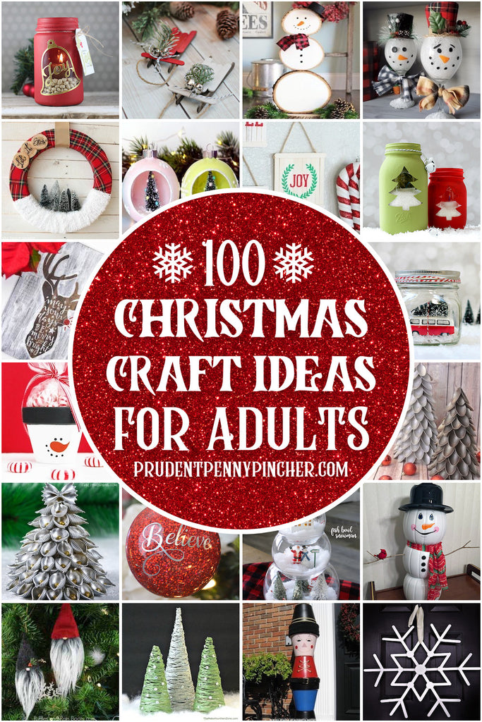 These Christmas crafts for adults will get you in the holiday spirit! From DIY christmas ornaments to DIY Christmas decorations, there are plenty of cute christmas craft ideas to choose from. Many of the supplies for these DIY Christmas decor ideas...