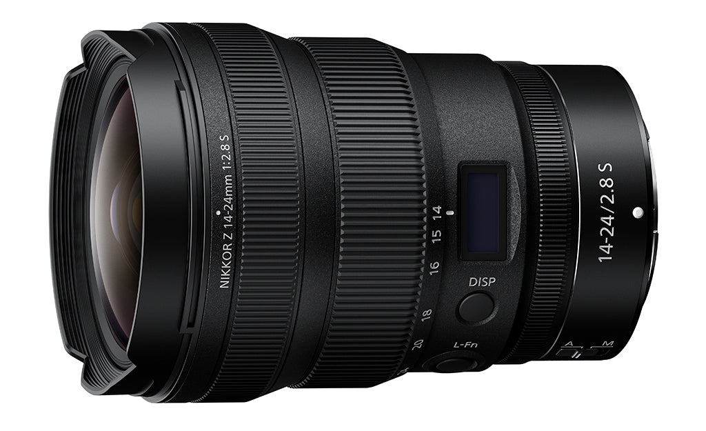 Nikon today introduced two new NIKKOR Z lenses for its Z series mirrorless cameras, the NIKKOR Z 14-24mm f/2.8 S zoom and NIKKOR Z 50mm f/1.2 S prime