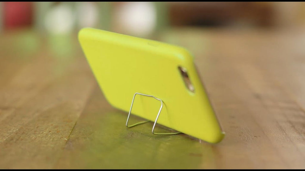 Hold the phone! You can prop up a smartphone with a paperclip? Find out how to turn an annoying situation into a solution you can stand with #eHowHacks.