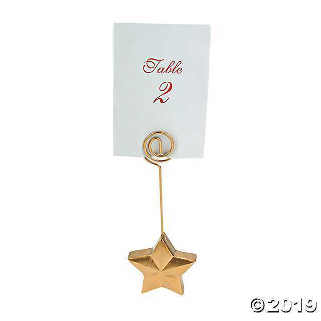 Buy Gold Place Card Holders