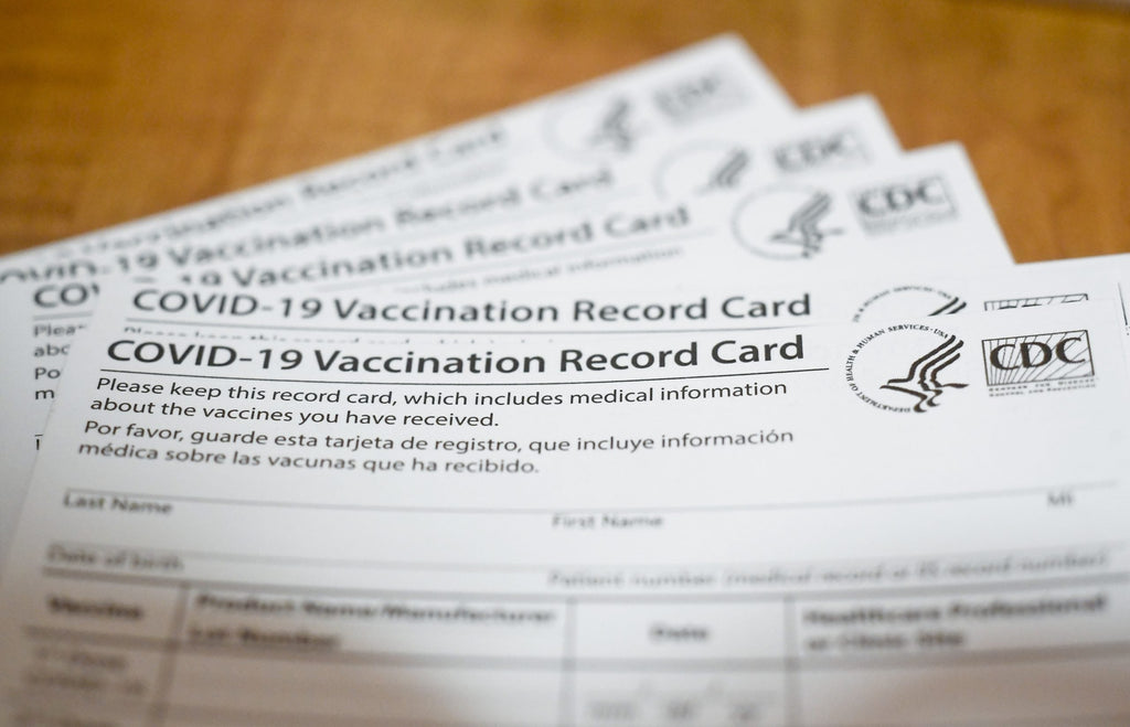 Should you laminate your CDC COVID-19 vaccine card?
