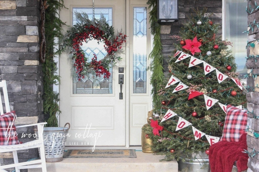 Lovable Porch Christmas Tree