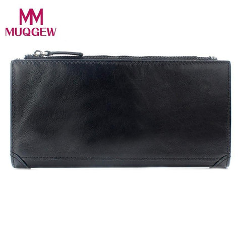19*9.5*1.5cm Men Leather Leather Credit/ID Card Holder Purse Perfect as a gift for your friends billetera