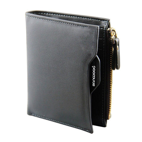 2016 Men's Shor Vertical Faux Leather Walle Bifold Card Money Clutch Multi-slo Carteira 9IGL