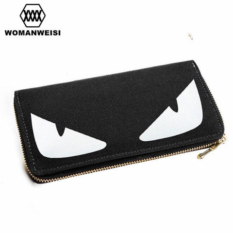 2016 Women Wallets And Purses Luxury Brand Luminous Men Wale Money Clamp Bag Anime Cute Ca Coins Pocke Female Valle carteras