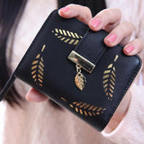 2017 Designer Famous Brand Luxury Women's Wallet Purse Female Small wallet  perse Portomonee