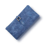 2017 Latest Women leather Leaf Long Wallet Female Coin Purse Change Clasp Purse Money Bag Card