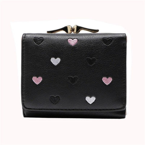 2017 New Brand Women Cute Wallets Large Capacity Cute Card Hold Short Purses Female High Quality Purse Women's bags A8