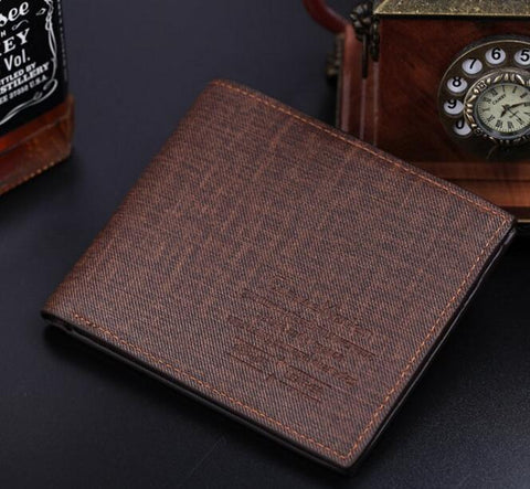 2017 New Ho Sale Polyester Men Hasp Korean Minimali Generous Men's Walle Slim Multi-card Bi Studen Shor Classic Handbag