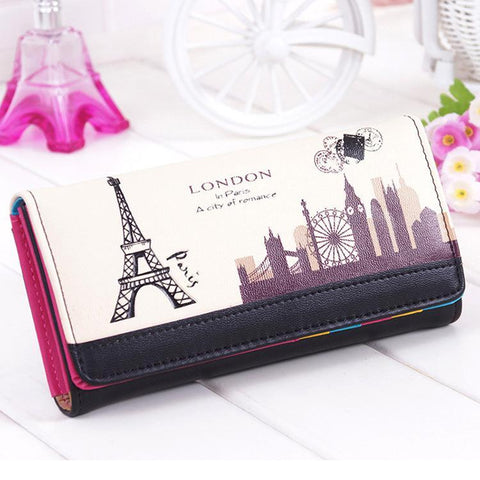 2018 Fashion Cute Women Wallet Candy Color Wallet Female Long women's purse Teenage Girl
